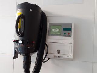 Temporizador de monedas y secador profesional masc