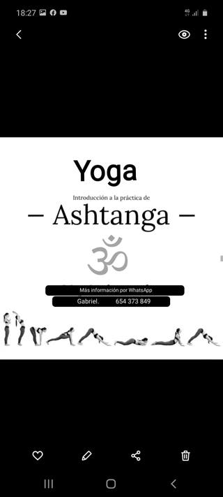 Clases de Ashtanga Yoga