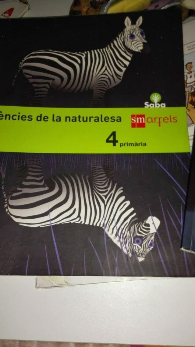 ciències de la naturaleza libro 4 de primaria