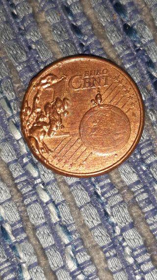 1 centimo con error Irlanda año 2008