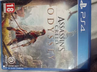 juego play 4 Assassins odyssey