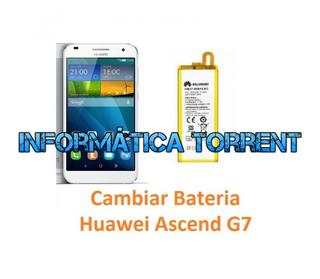 Cambiar Batería Huawei Ascend G7