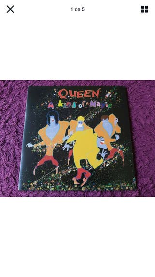 Vinilo Queen (Nuevo) A kind of Magic