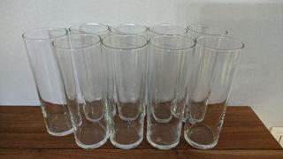 9 vasos de tubo