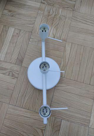 lampara de techo de 3 bombillas gu10