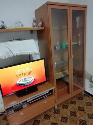 Mueble vitrina tv