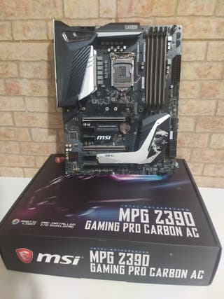 Placa base MSI MPG Gaming Pro Carbon AC Z390