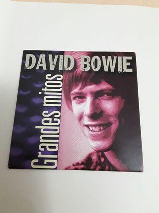 CD, DAVID BOWIE grandes mitos.