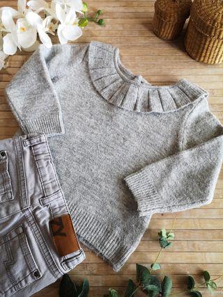 Jersey lana talla 18/24 meses invierno