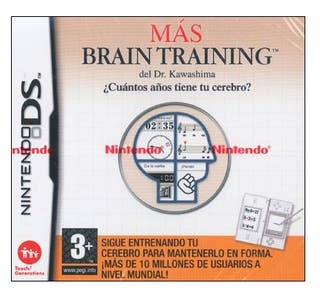 Juego Nintendo DS Mas Brain Training