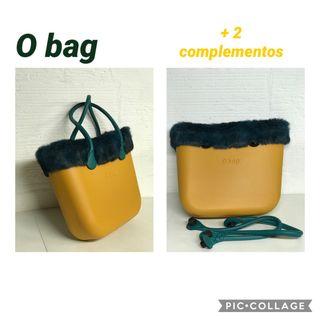 BOLSO OBAG CAPAZO XL MOSTAZA + 2 complementos