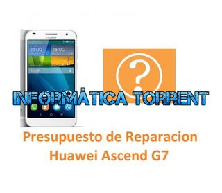 Presupuesto De Reparación Huawei Ascend G7