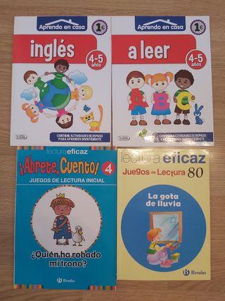 lote libros inglés.