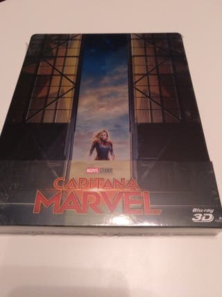 Capitana Marvel 3D steelbook blu-ray