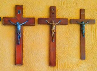 Crucifijos antiguos