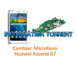 Cambiar Micrófono Huawei Ascend G7