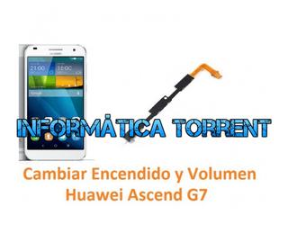 Cambiar Encendido Y Volumen Huawei Ascend G7