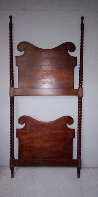 Antigua litera madera