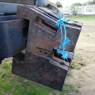contrapesos pesas delantera tractor