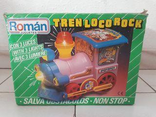 Tren loco rock vintage