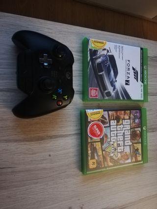 forza motorsport 7 y gta v Xbox one