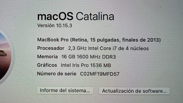 MacBook Pro 13 (2012) y MacBook Pro 15 (2013)