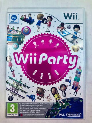 JUEGO Wii PARTY