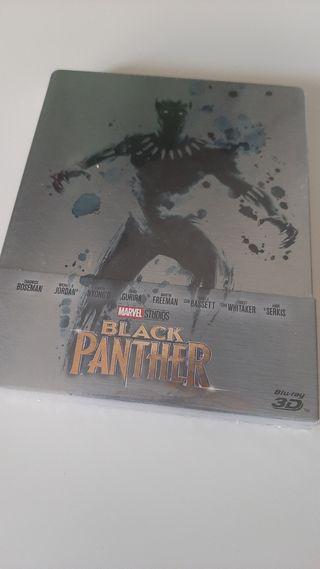 Black Panther 3D steelbook blu-ray