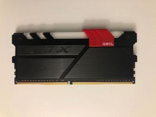 16Gb RAM DDR4 (2x8Gb)
