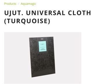 UJUT. UNIVERSAL CLOTH (TURQUOISE)