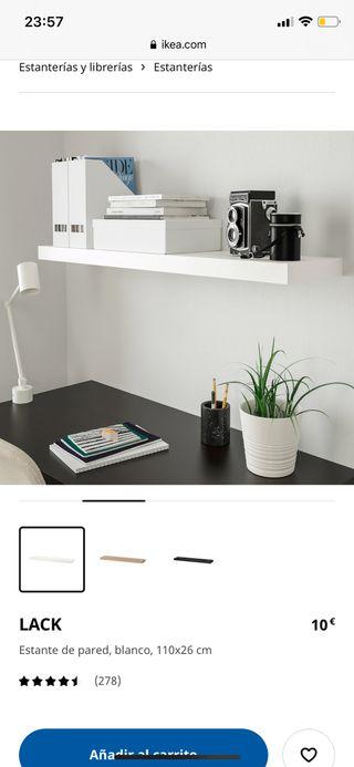 Estante / estantería de pared Lack IKEA