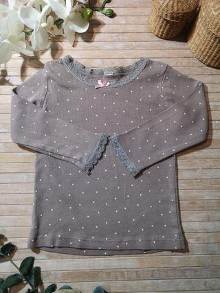 camiseta talla 12 /18 meses manga larga
