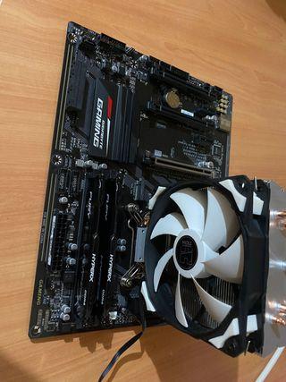 I7 7700k ,Placa Gaming y Memoria Ram