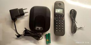 Teléfono fijo inalámbrico Poss PSDP12