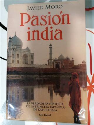 Pasión india, de Javier Moro.