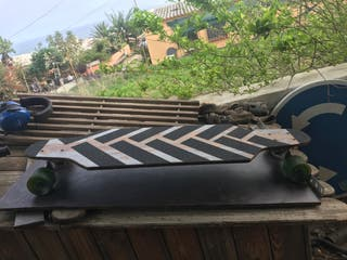 Skate Longboard Artesanal