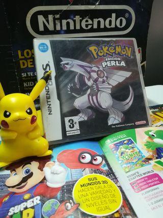 POKÉMON EDICIÓN PERLA Nintendo DS