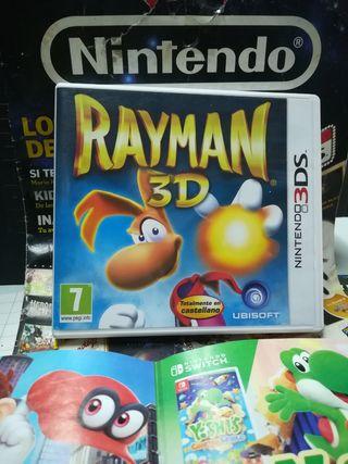 RAYMAN 3 D para Nintendo 3 DS