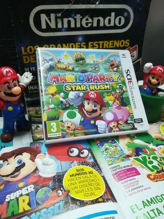 MARIO PARTY Star Rush para Nintendo 3DS y 2DS