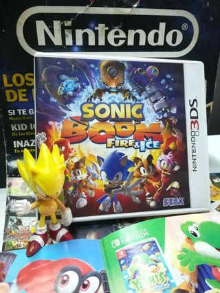 SONIC BOOM FIRE Y ICE. para Nintendo 3DS y 2DS