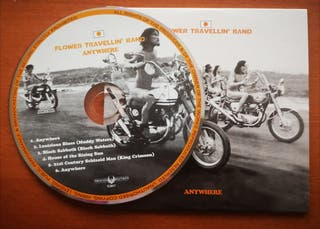 "Flower Travellin' Band ""Anywhere"" CD 1970"