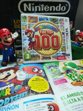 Mario Party The Top 100 para Nintendo 3DS y 2DS
