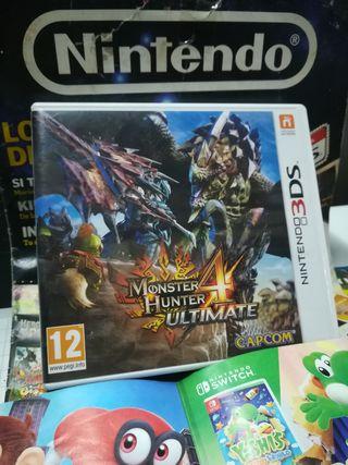 Nintendo 3 DS MONSTER HUNTER ULTIMATE 4