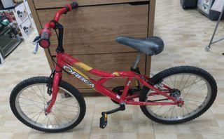 Bicicleta infantil Orbea 20 pulgadas.