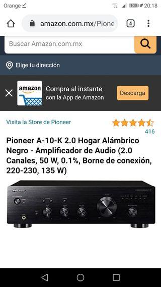 Amplificador Pioneer A-10