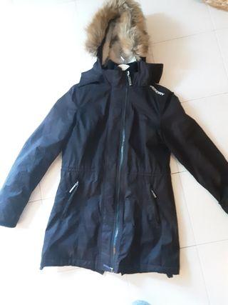 chaqueta abrigo superdry