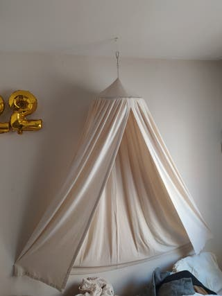 Tela decoración cama mosquitera toldo