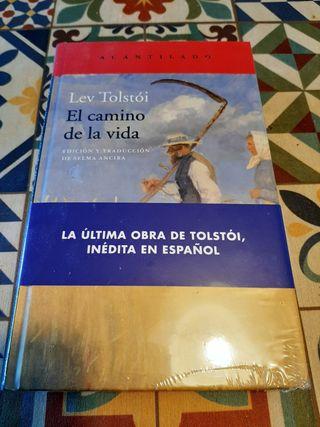 """Libro """"El camino de la vida"""" de Lev Tolstói"""