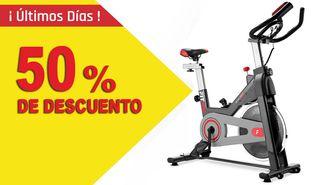 Bicicleta indoor BESP-50 ergonomica 11Kg volante