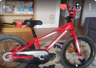 "Bicicleta SPECIALIZED de niño 16"""